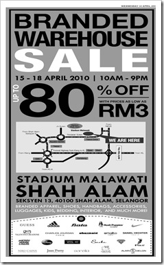 brandedwarehousesale_thumb - Malaysia Sales Promotions & Freebies Warehouse Sale & Clearance in Malaysia