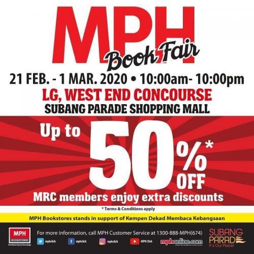 MPH-Book-Fair-Sale-at-Subang-Parade-350x350 - Books & Magazines Malaysia Sales Selangor Stationery