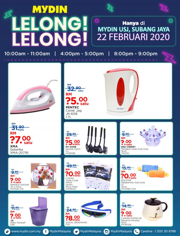 MYDIN-Lelong-Lelong-Promotion-at-USJ-Subang-Jaya-1-1-350x459 - Promotions & Freebies Selangor Supermarket & Hypermarket