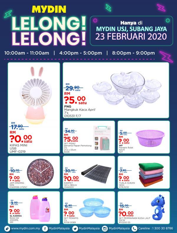 MYDIN-Lelong-Lelong-Promotion-at-USJ-Subang-Jaya-2-1-350x459 - Promotions & Freebies Selangor Supermarket & Hypermarket