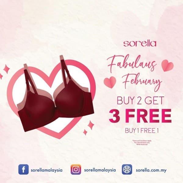 Sorella-Fabulous-February-Promo-at-Freeport-AFamosa-Outlet-350x350 - Fashion Lifestyle & Department Store Lingerie Melaka Promotions & Freebies