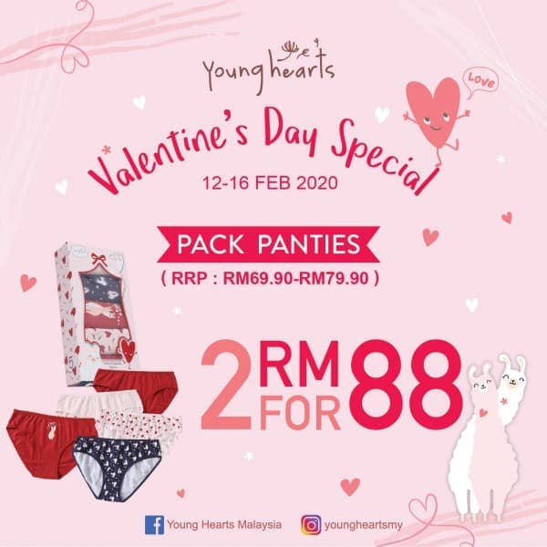 Young-Hearts-Valentines-Day-Promotion-at-1st-Avenue-350x350 - Fashion Lifestyle & Department Store Lingerie Penang Promotions & Freebies Underwear