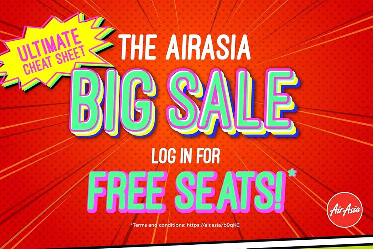 AirAsia-Big-Sale-FREE-SEATS-2020-Malaysia-FREE-Air-Fares-2021-Promotion-Travel-Flights - Air Fare Johor Kuala Lumpur Location Nationwide Online Store Penang Putrajaya Sabah Sarawak Sports,Leisure & Travel Transportation Travel Packages Warehouse Sale & Clearance in Malaysia