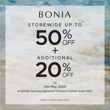 Bonia-Special-Sale-Genting-Highlands-Premium-Outlets-350x350 - Apparels Fashion Accessories Fashion Lifestyle & Department Store Malaysia Sales Pahang