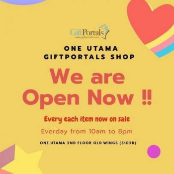 Gift-Portals-We-are-Open-at-One-Utama-350x350 - Events & Fairs Others Selangor