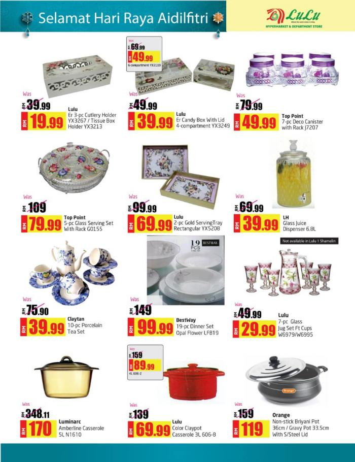 LuLu-Hypermarket-Hari-Raya-Promotion-Catalogue-11-350x455 - Kuala Lumpur Promotions & Freebies Selangor Supermarket & Hypermarket