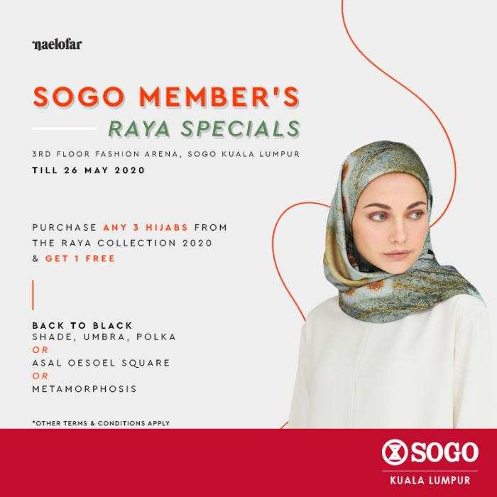 Naelofar-Raya-Sale-at-SOGO-Kuala-Lumpur-350x350 - Apparels Fashion Accessories Fashion Lifestyle & Department Store Kuala Lumpur Malaysia Sales Selangor