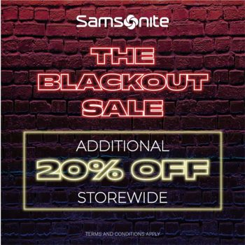 Samsonite-Blackout-Sale-at-Design-Village-Outlet-Mall-350x350 - Luggage Penang Sports,Leisure & Travel Warehouse Sale & Clearance in Malaysia