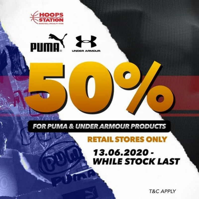 Hoops-Station-UA-Puma-Sale-350x350 - Apparels Fashion Accessories Fashion Lifestyle & Department Store Footwear Johor Kuala Lumpur Malaysia Sales Sarawak Selangor Sportswear