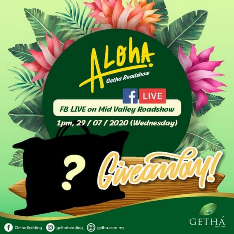 Getha-Facebook-Live-350x350 - Events & Fairs Kuala Lumpur Others Selangor
