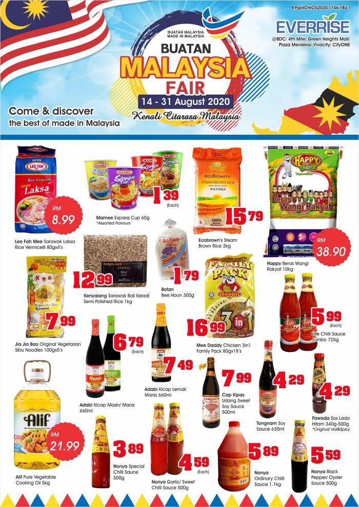 Everrise-Buatan-Malaysia-Fair-Promotion-1-350x495 - Promotions & Freebies Sarawak Supermarket & Hypermarket