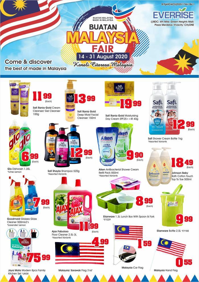 Everrise-Buatan-Malaysia-Fair-Promotion-4-350x495 - Promotions & Freebies Sarawak Supermarket & Hypermarket