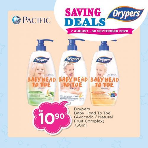 Pacific-Hypermarket-Drypers-Saving-Deals-Promotion-2-350x350 - Johor Kedah Kelantan Kuala Lumpur Melaka Negeri Sembilan Pahang Penang Perak Perlis Promotions & Freebies Putrajaya Sabah Sarawak Selangor Supermarket & Hypermarket Terengganu