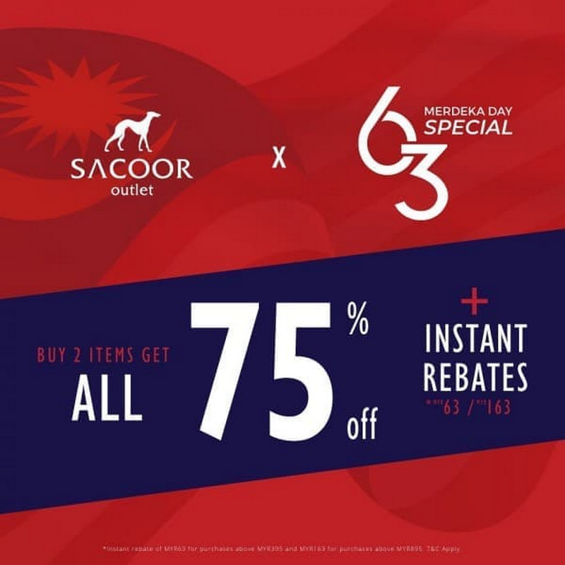 Sacoor-Brothers-Outlet-Merdeka-Sale-at-Freeport-AFamosa-Outlet-350x350 - Apparels Fashion Accessories Fashion Lifestyle & Department Store Malaysia Sales Melaka