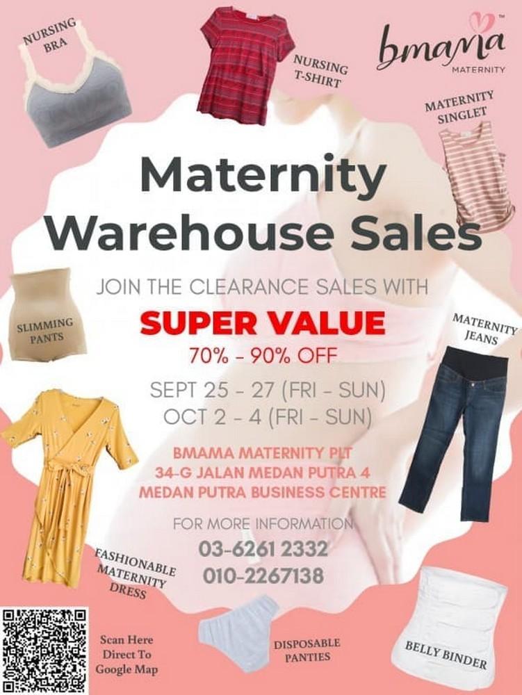 Bmama-Maternity-Warehouse-Clearance-Sale-350x466 - Fashion Lifestyle & Department Store Kuala Lumpur Maternity Selangor Warehouse Sale & Clearance in Malaysia