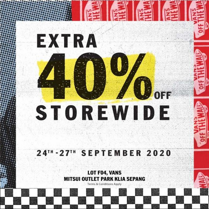 Vans-Outlet-Sale-at-Mitsui-Outlet-Park-350x350 - Fashion Accessories Fashion Lifestyle & Department Store Footwear Malaysia Sales Selangor