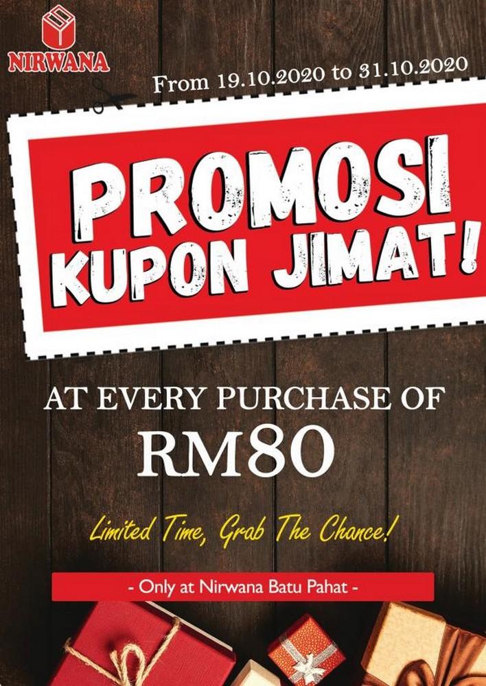Nirwana-Discount-Coupon-Promotion-at-Batu-Pahat-350x494 - Johor Promotions & Freebies Supermarket & Hypermarket