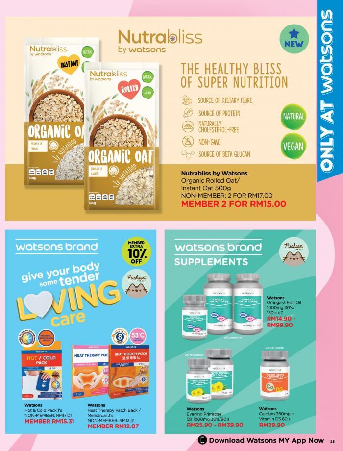 Watsons-Promotion-Catalogue-24-350x460 - Beauty & Health Health Supplements Johor Kedah Kelantan Kuala Lumpur Melaka Negeri Sembilan Online Store Pahang Penang Perak Perlis Personal Care Promotions & Freebies Putrajaya Sabah Sarawak Selangor Terengganu