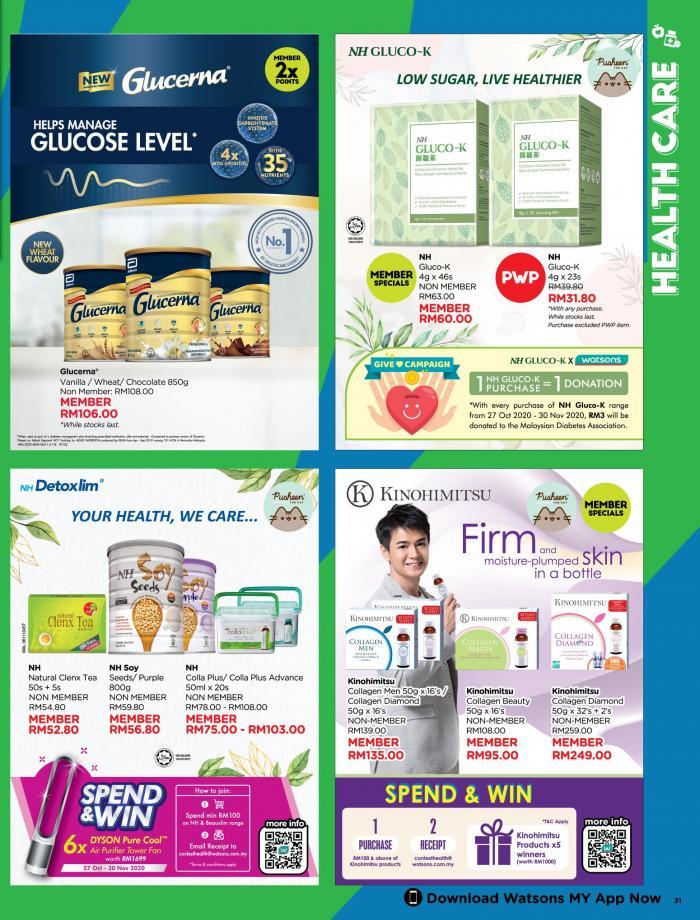 Watsons-Promotion-Catalogue-30-350x460 - Beauty & Health Health Supplements Johor Kedah Kelantan Kuala Lumpur Melaka Negeri Sembilan Online Store Pahang Penang Perak Perlis Personal Care Promotions & Freebies Putrajaya Sabah Sarawak Selangor Terengganu
