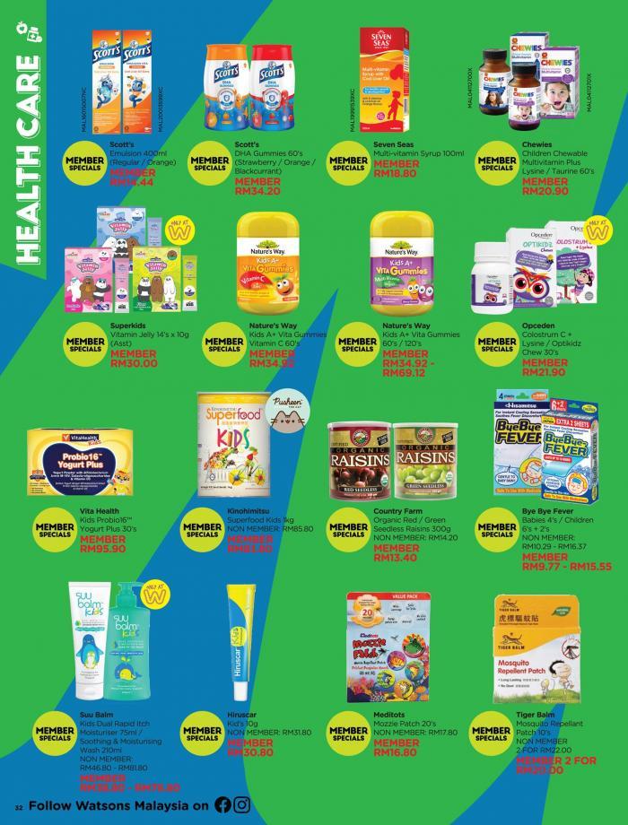 Watsons-Promotion-Catalogue-31-350x460 - Beauty & Health Health Supplements Johor Kedah Kelantan Kuala Lumpur Melaka Negeri Sembilan Online Store Pahang Penang Perak Perlis Personal Care Promotions & Freebies Putrajaya Sabah Sarawak Selangor Terengganu