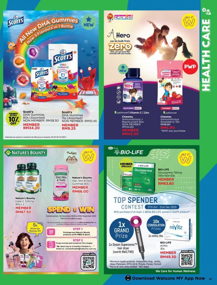 Watsons-Promotion-Catalogue-32-350x460 - Beauty & Health Health Supplements Johor Kedah Kelantan Kuala Lumpur Melaka Negeri Sembilan Online Store Pahang Penang Perak Perlis Personal Care Promotions & Freebies Putrajaya Sabah Sarawak Selangor Terengganu