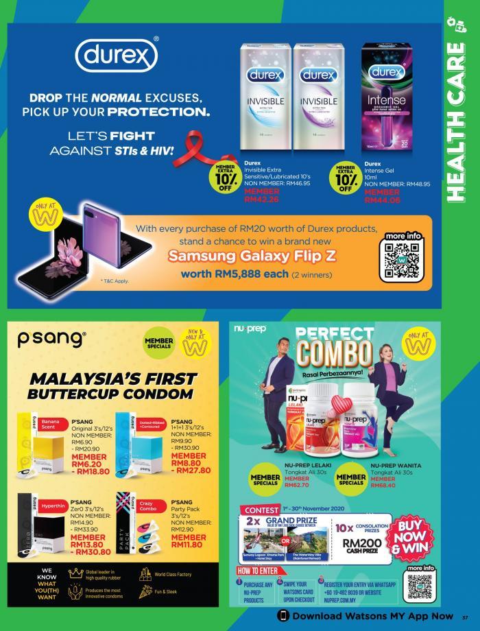 Watsons-Promotion-Catalogue-36-350x460 - Beauty & Health Health Supplements Johor Kedah Kelantan Kuala Lumpur Melaka Negeri Sembilan Online Store Pahang Penang Perak Perlis Personal Care Promotions & Freebies Putrajaya Sabah Sarawak Selangor Terengganu
