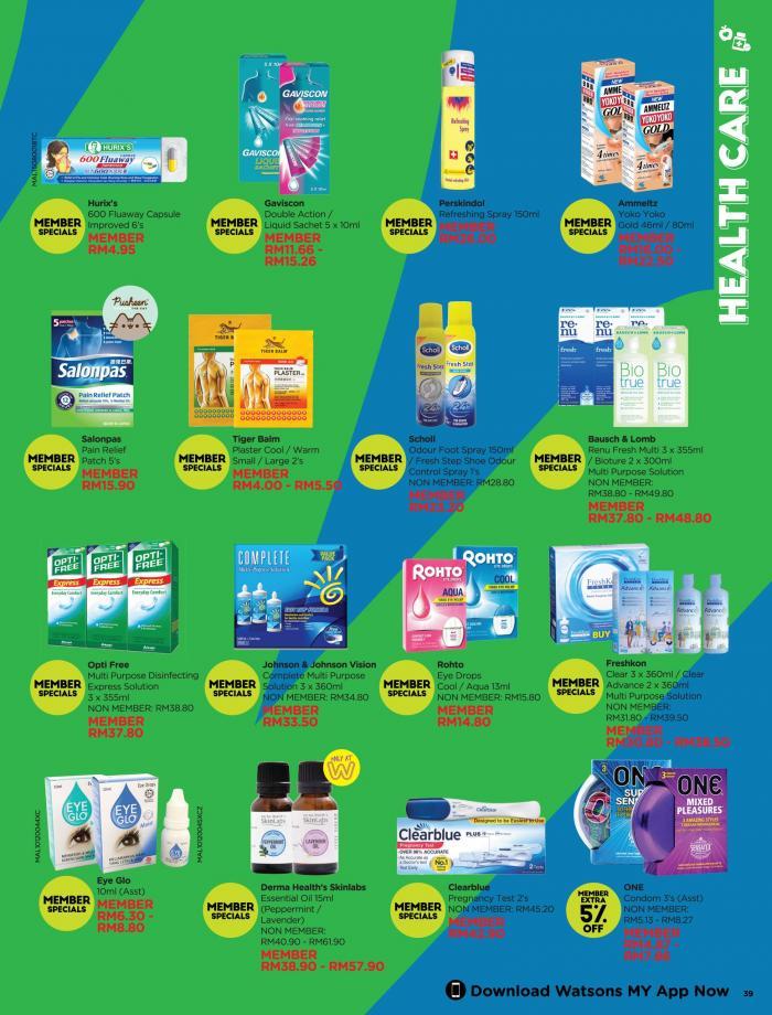 Watsons-Promotion-Catalogue-38-350x460 - Beauty & Health Health Supplements Johor Kedah Kelantan Kuala Lumpur Melaka Negeri Sembilan Online Store Pahang Penang Perak Perlis Personal Care Promotions & Freebies Putrajaya Sabah Sarawak Selangor Terengganu