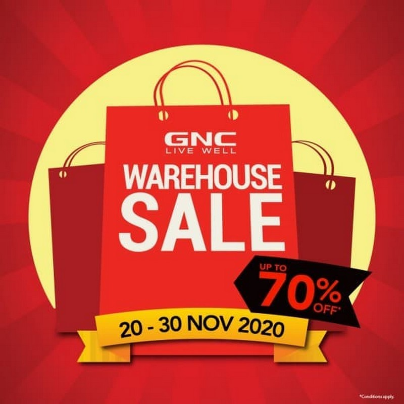GNC-Black-Friday-Warehouse-Sale-at-Berjaya-Times-Square-350x350 - Beauty & Health Health Supplements Kuala Lumpur Selangor Warehouse Sale & Clearance in Malaysia