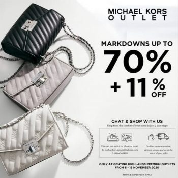 Michael-Kors-Special-Sale-at-Genting-Highlands-Premium-Outlets-350x350 - Bags Fashion Accessories Fashion Lifestyle & Department Store Handbags Malaysia Sales Pahang