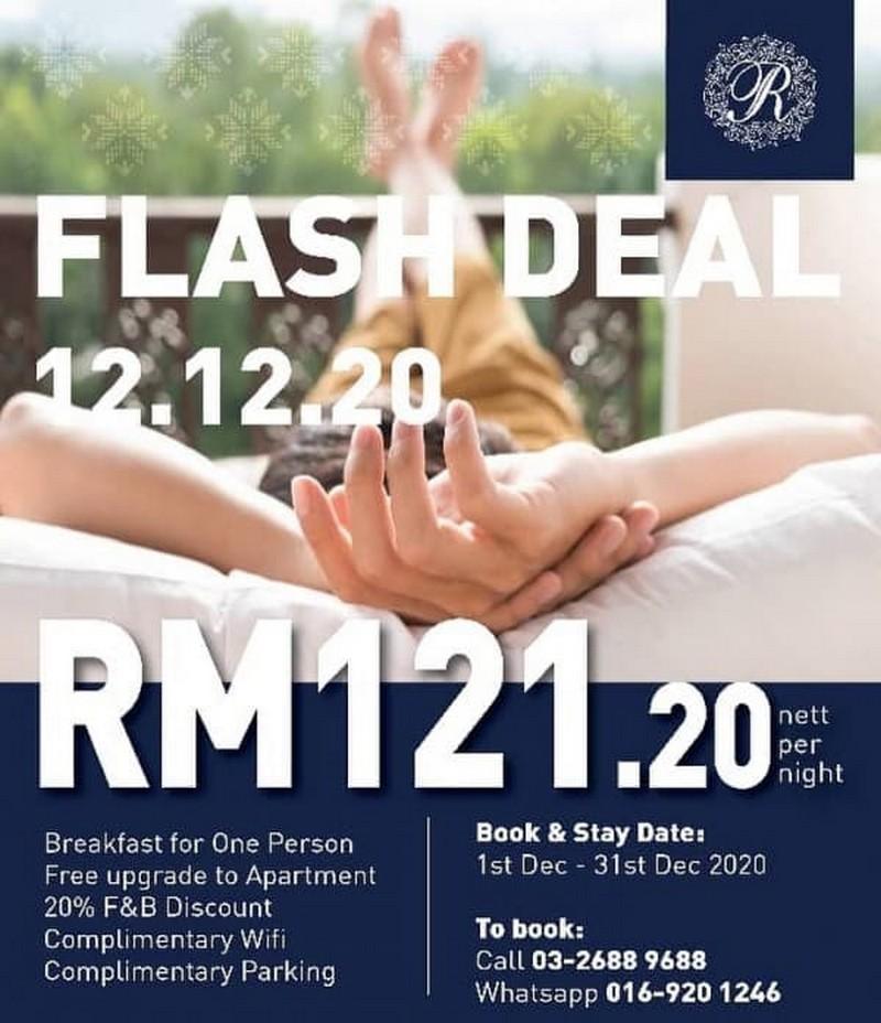 The-Royale-Chulan-Flash-Deal-350x406 - Hotels Kuala Lumpur Promotions & Freebies Selangor Sports,Leisure & Travel