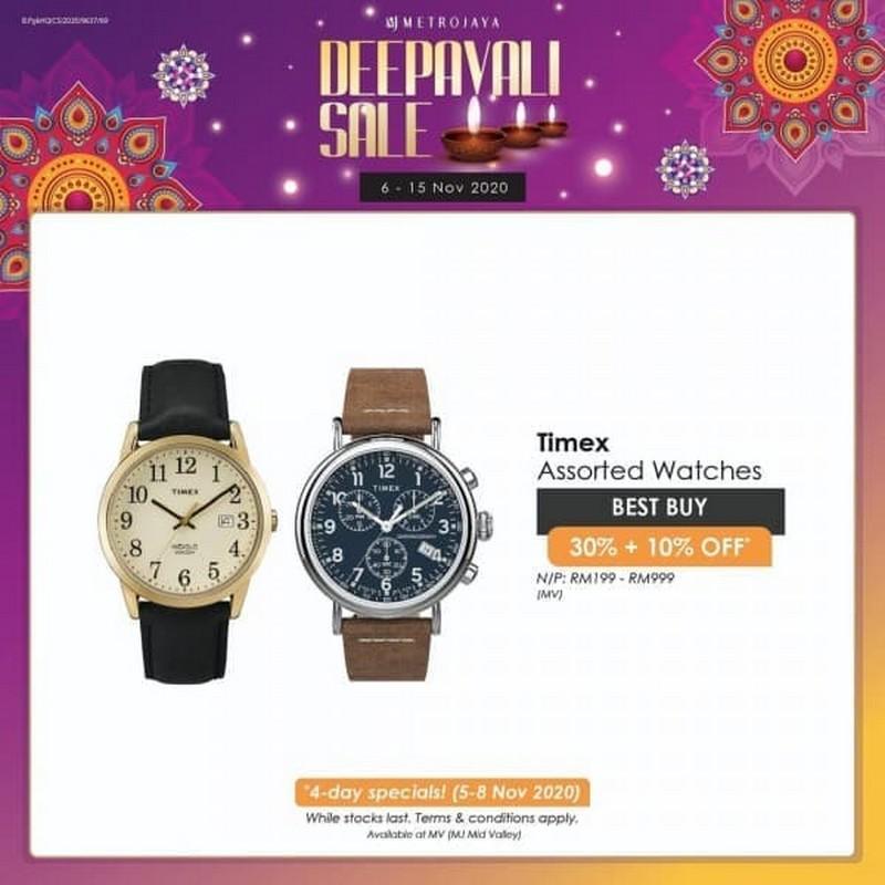 Timex-Watches-Promo-at-Metrojaya-350x350 - Fashion Lifestyle & Department Store Kuala Lumpur Promotions & Freebies Selangor Watches