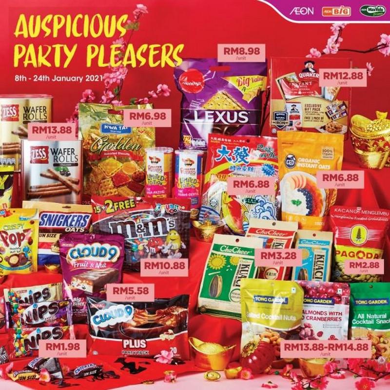 AEON-BiG-Chinese-New-Year-Snack-Promotion-350x350 - Johor Kedah Kelantan Kuala Lumpur Melaka Negeri Sembilan Pahang Penang Perak Perlis Promotions & Freebies Putrajaya Sabah Sarawak Selangor Supermarket & Hypermarket Terengganu