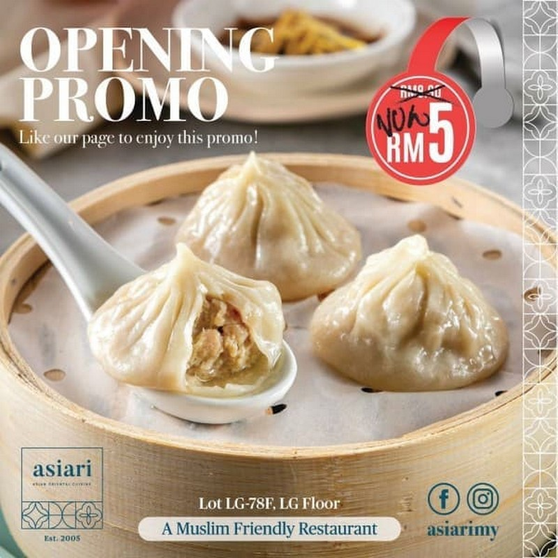 ASIARI-Opening-Promo-at-IOI-City-Mall-350x350 - Beverages Food , Restaurant & Pub Promotions & Freebies Putrajaya