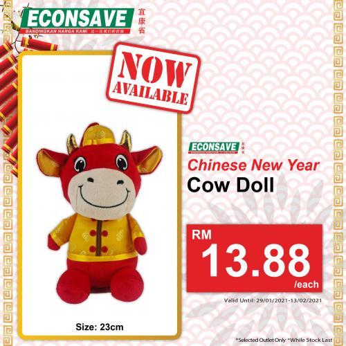 Econsave-CNY-Gift-Bag-and-Cow-Doll-Promotion-5-350x350 - Johor Kedah Kelantan Kuala Lumpur Melaka Negeri Sembilan Pahang Penang Perak Perlis Promotions & Freebies Putrajaya Sabah Sarawak Selangor Supermarket & Hypermarket Terengganu