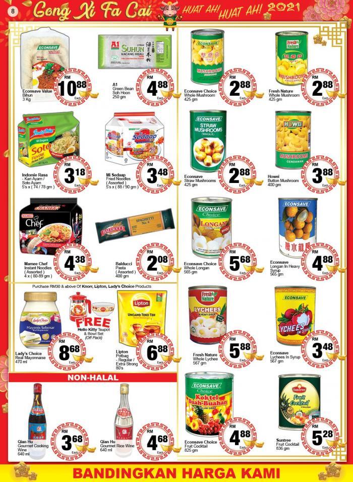Econsave-Chinese-New-Year-Promotion-Catalogue-7-350x478 - Johor Kedah Kelantan Kuala Lumpur Melaka Negeri Sembilan Pahang Penang Perak Perlis Promotions & Freebies Putrajaya Selangor Supermarket & Hypermarket Terengganu