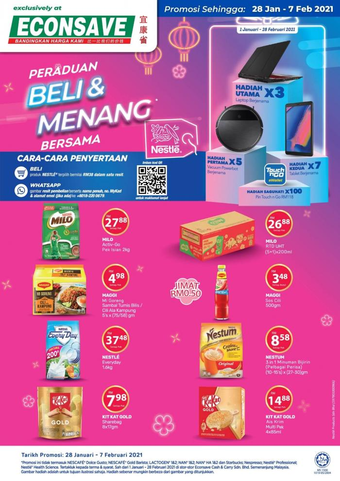 Econsave-Nestle-Promotion-350x495 - Johor Kedah Kelantan Kuala Lumpur Melaka Negeri Sembilan Pahang Penang Perak Perlis Promotions & Freebies Putrajaya Sabah Sarawak Selangor Supermarket & Hypermarket Terengganu