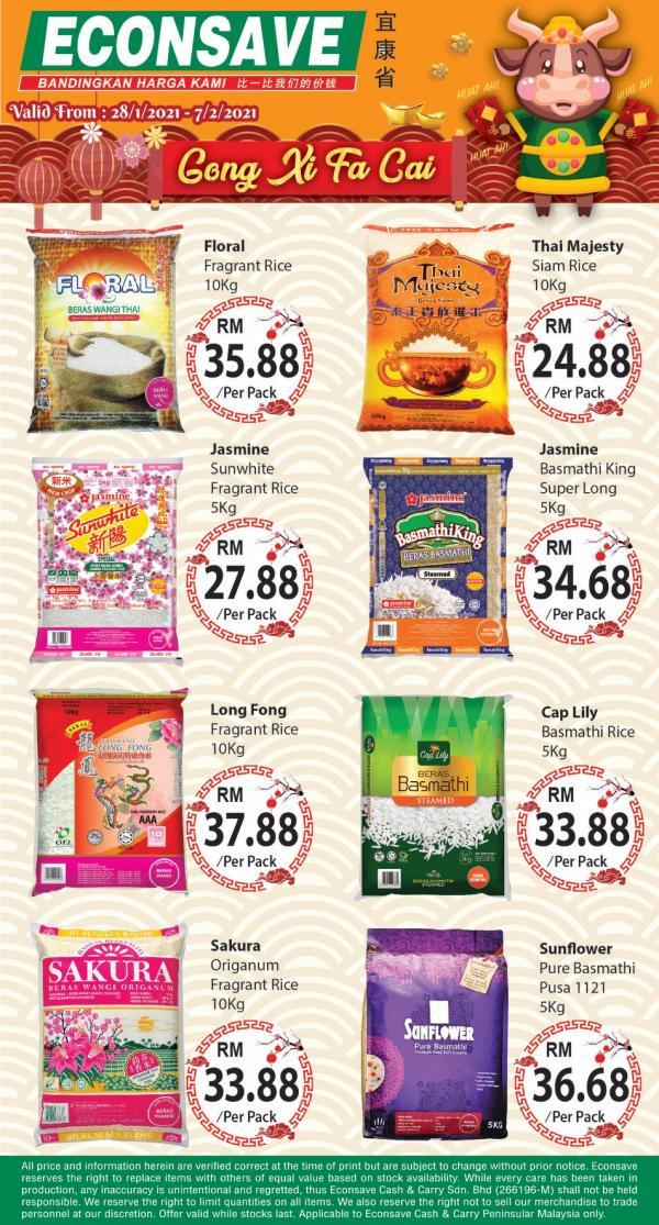 Econsave-Rice-Chinese-New-Year-Promotion-1-336x625 - Johor Kedah Kelantan Kuala Lumpur Melaka Negeri Sembilan Pahang Penang Perak Perlis Promotions & Freebies Putrajaya Selangor Supermarket & Hypermarket Terengganu