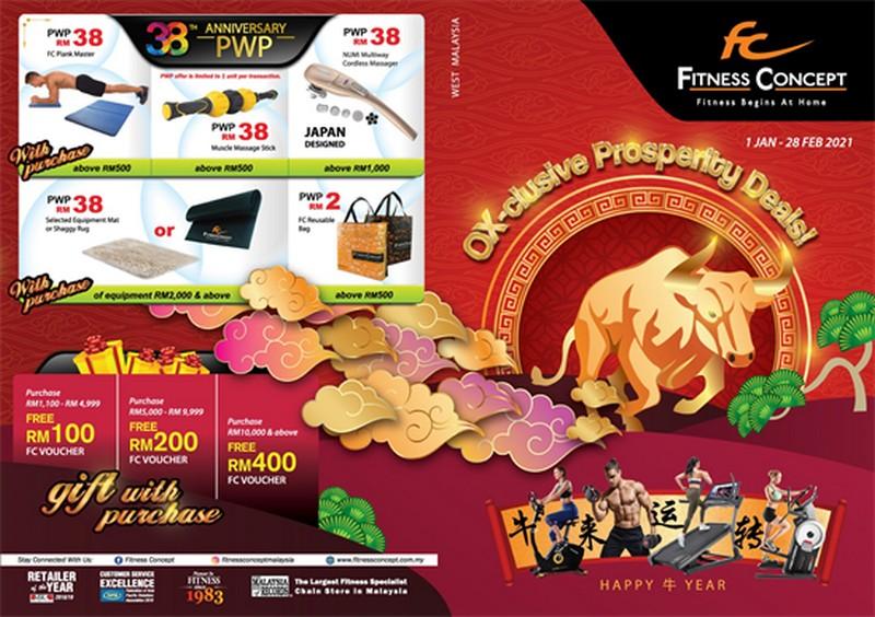 Fitness-Concept-Ox-clusive-Prosperity-Deals-350x247 - Fitness Johor Kedah Kelantan Kuala Lumpur Melaka Negeri Sembilan Pahang Penang Perak Perlis Promotions & Freebies Putrajaya Sabah Sarawak Selangor Sports,Leisure & Travel Terengganu