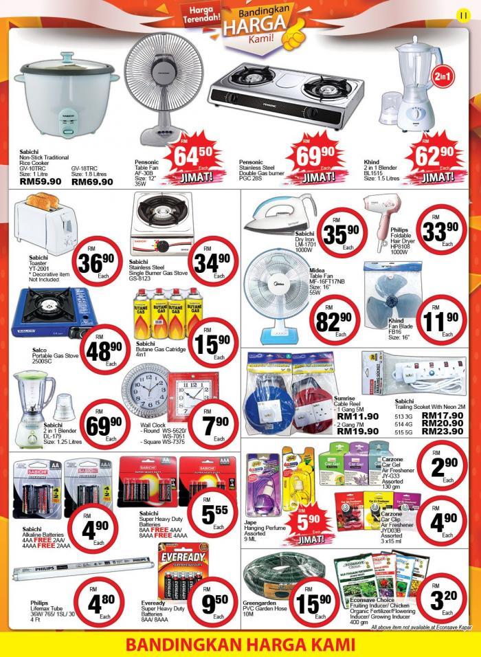 Econsave-Promotion-Catalogue-10-350x478 - Johor Kedah Kelantan Kuala Lumpur Melaka Negeri Sembilan Pahang Penang Perak Perlis Promotions & Freebies Putrajaya Selangor Supermarket & Hypermarket Terengganu