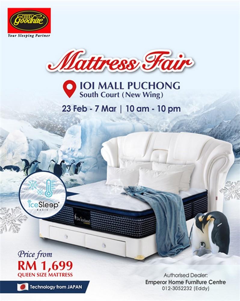 Goodnite-Mattress-Fair-at-IOI-Mall-Puchong-350x439 - Beddings Events & Fairs Home & Garden & Tools Mattress Selangor