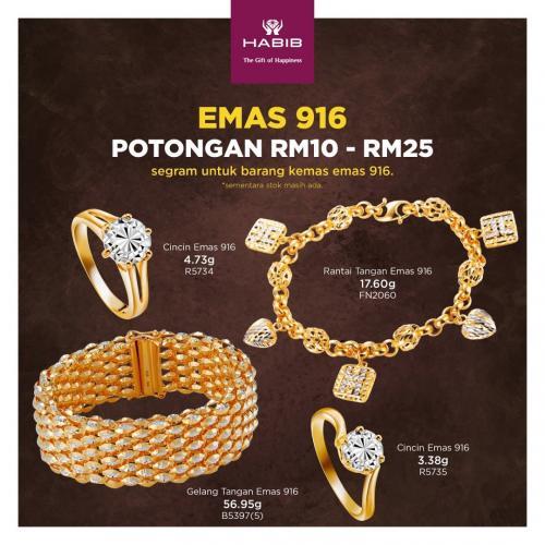 HABIB-Renovation-Sale-at-Angsana-JB-Mall-6-350x350 - Gifts , Souvenir & Jewellery Jewels Johor Warehouse Sale & Clearance in Malaysia