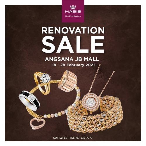 HABIB-Renovation-Sale-at-Angsana-JB-Mall-350x350 - Gifts , Souvenir & Jewellery Jewels Johor Warehouse Sale & Clearance in Malaysia