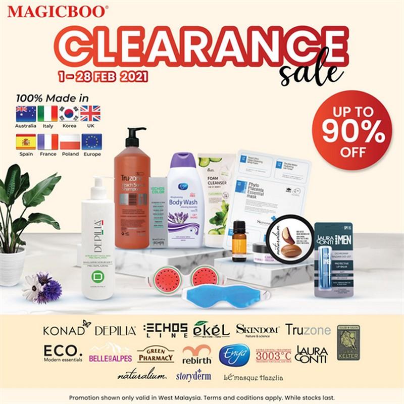 Magicboo-Clearance-Sale-350x350 - Beauty & Health Cosmetics Johor Kedah Kelantan Kuala Lumpur Melaka Negeri Sembilan Pahang Penang Perak Perlis Personal Care Putrajaya Selangor Skincare Terengganu Warehouse Sale & Clearance in Malaysia