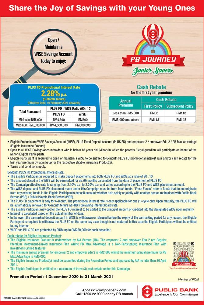 Public-Bank-Journey-Junior-Savers-Campaign-350x522 - Bank & Finance Johor Kedah Kelantan Kuala Lumpur Melaka Negeri Sembilan Online Store Pahang Penang Perak Perlis Promotions & Freebies Public Bank Putrajaya Sabah Sarawak Selangor Terengganu