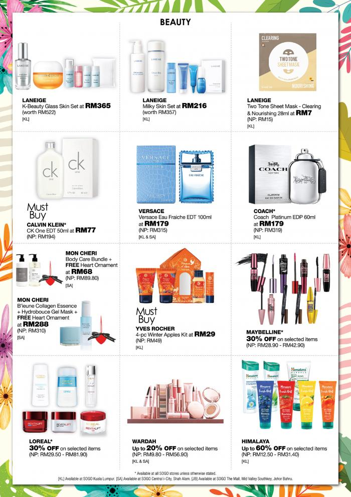 SOGO-Spring-Price-Bonanza-Sale-1-350x495 - Johor Kuala Lumpur Malaysia Sales Selangor Supermarket & Hypermarket