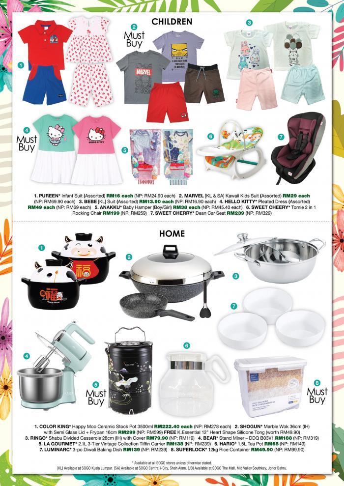 SOGO-Spring-Price-Bonanza-Sale-4-350x495 - Johor Kuala Lumpur Malaysia Sales Selangor Supermarket & Hypermarket