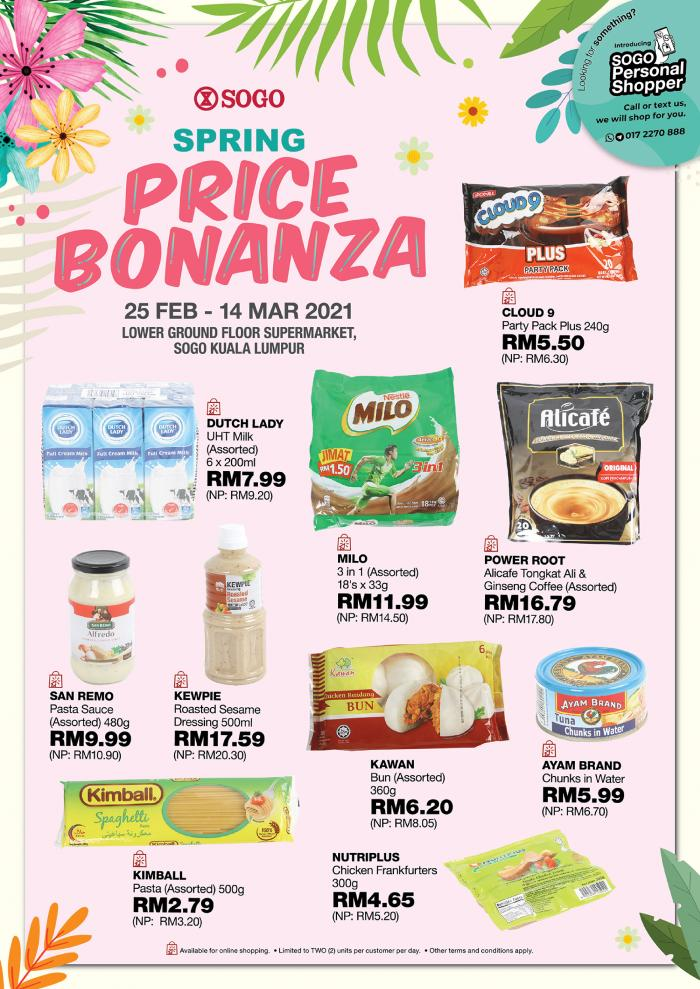 SOGO-Spring-Price-Bonanza-Sale-6-350x495 - Johor Kuala Lumpur Malaysia Sales Selangor Supermarket & Hypermarket
