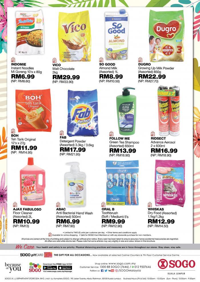 SOGO-Spring-Price-Bonanza-Sale-7-350x495 - Johor Kuala Lumpur Malaysia Sales Selangor Supermarket & Hypermarket