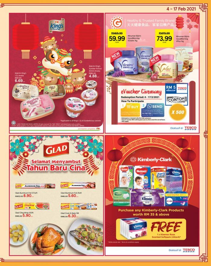 Tesco-Chinese-New-Year-Promotion-Catalogue-10-350x442 - Johor Kedah Kelantan Kuala Lumpur Melaka Negeri Sembilan Pahang Penang Perak Perlis Promotions & Freebies Putrajaya Sabah Sarawak Selangor Supermarket & Hypermarket Terengganu