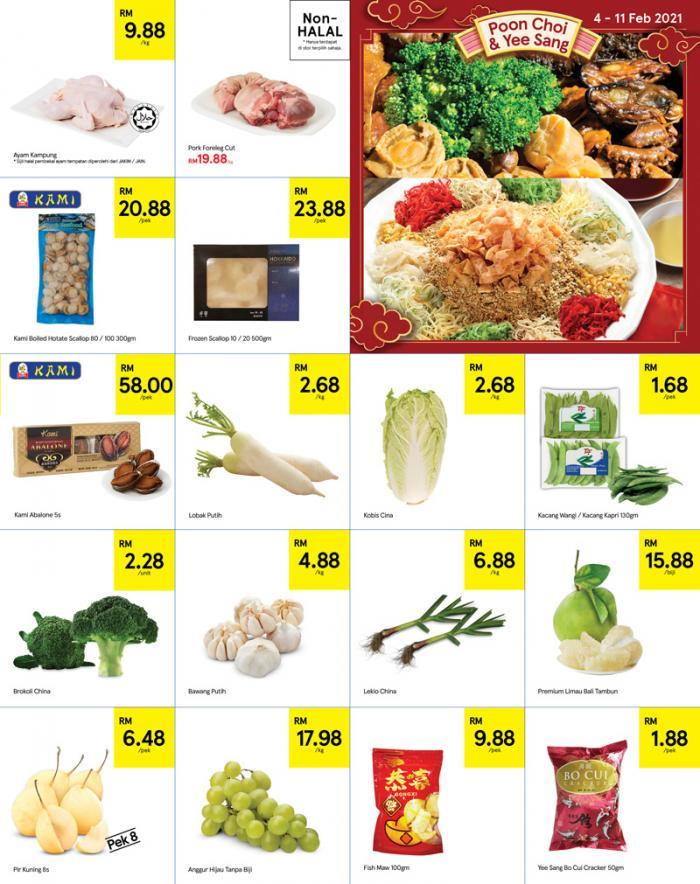 Tesco-Chinese-New-Year-Promotion-Catalogue-2-350x442 - Johor Kedah Kelantan Kuala Lumpur Melaka Negeri Sembilan Pahang Penang Perak Perlis Promotions & Freebies Putrajaya Sabah Sarawak Selangor Supermarket & Hypermarket Terengganu